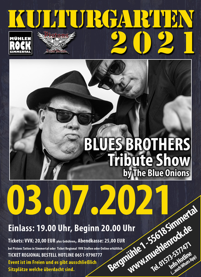 The Bluesbrothers by the Blue Onions