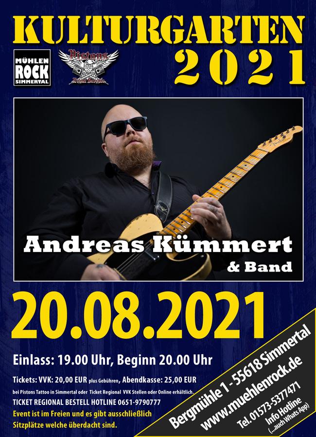 Andreas Kümmert & Band
